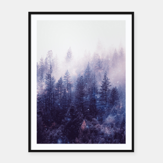 Thumbnail image of Mist Space Framed poster, Live Heroes