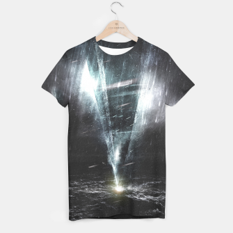 Thumbnail image of We come in peace T-shirt, Live Heroes