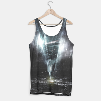 Thumbnail image of We come in peace Tank Top, Live Heroes