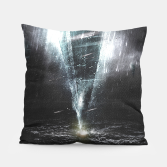 Thumbnail image of We come in peace Pillow, Live Heroes