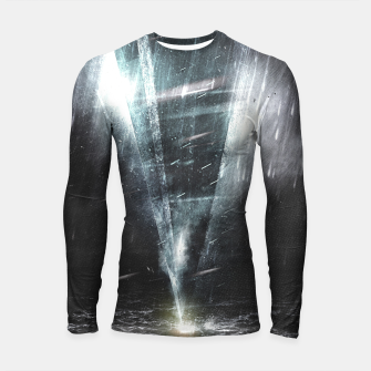 Thumbnail image of We come in peace Longsleeve Rashguard , Live Heroes