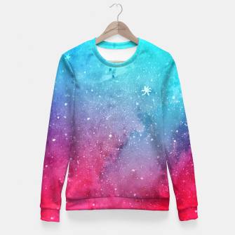 Miniaturka Polarlight Galaxy Fitted Waist Sweater, Live Heroes
