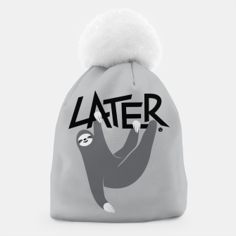 Maybe Later - Sloth Czapka obraz miniatury