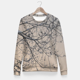 Miniaturka Snowy branches Fitted Waist Sweater, Live Heroes