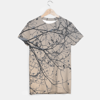 Miniaturka Snowy branches T-shirt, Live Heroes