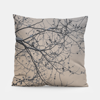 Miniaturka Snowy branches Pillow, Live Heroes