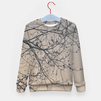 Miniaturka Snowy branches Kid's Sweater, Live Heroes
