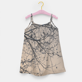 Miniaturka Snowy branches Girl's Dress, Live Heroes