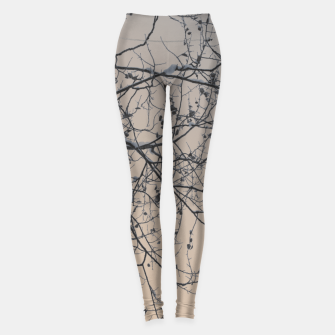 Miniaturka Snowy branches Leggings, Live Heroes