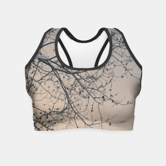 Miniaturka Snowy branches Crop Top, Live Heroes