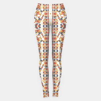 Multicolored Geometric Pattern  Leggings thumbnail image