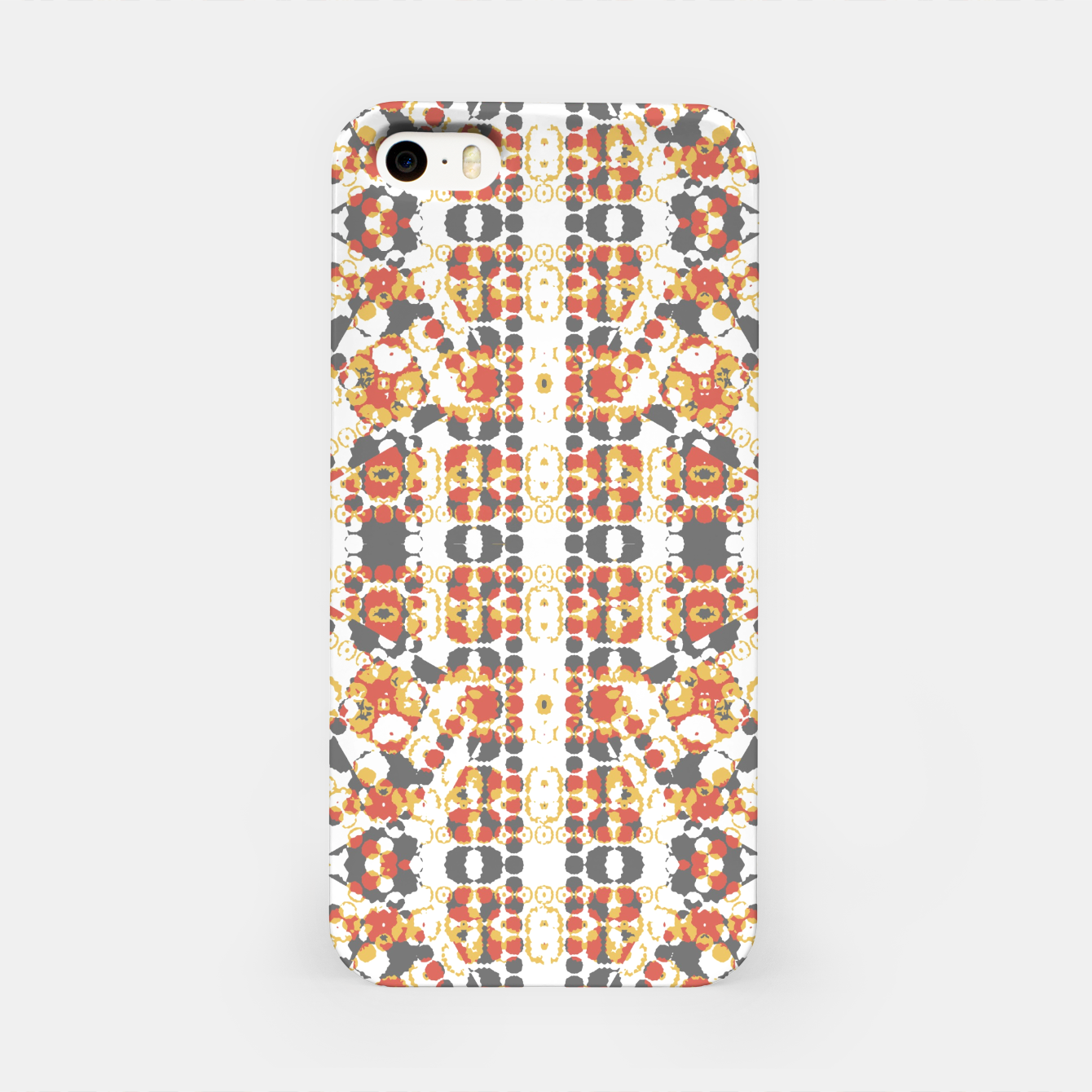 Image of Multicolored Geometric Pattern  iPhone Case - Live Heroes