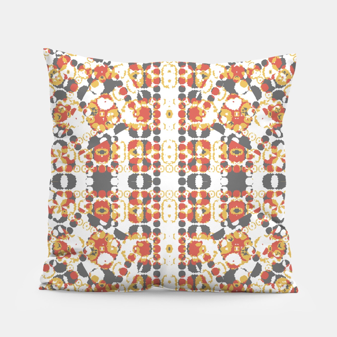 Image of Multicolored Geometric Pattern  Pillow - Live Heroes