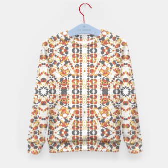 Multicolored Geometric Pattern  Kid's Sweater thumbnail image