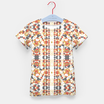Multicolored Geometric Pattern  Kid's T-shirt thumbnail image