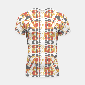 Multicolored Geometric Pattern  Shortsleeve Rashguard thumbnail image