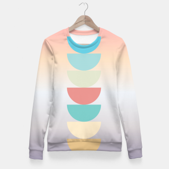 Thumbnail image of pastel love Fitted Waist Sweater, Live Heroes