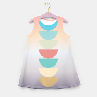 Thumbnail image of pastel love Girl's Summer Dress, Live Heroes