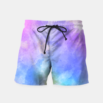 Thumbnail image of Artistc backdrop with splashes of colour Swim Shorts, Live Heroes