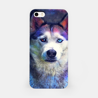 Thumbnail image of Dog husky Obudowa iPhone, Live Heroes