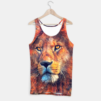 Thumbnail image of Lion Tank Top, Live Heroes