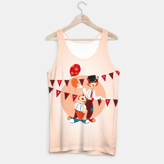 Thumbnail image of Circus clowns – Tank Top, Live Heroes