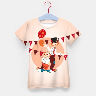 Thumbnail image of Circus clowns – Kid's T-shirt, Live Heroes