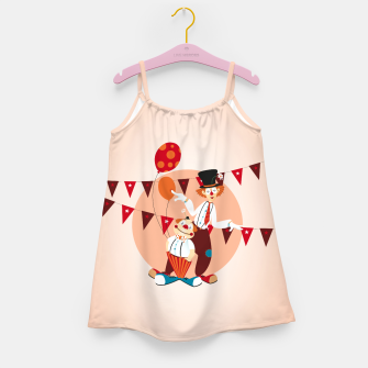 Thumbnail image of Circus clowns – Girl's Dress, Live Heroes