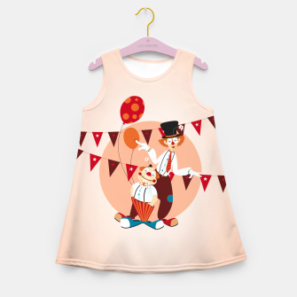 Thumbnail image of Circus clowns – Girl's Summer Dress, Live Heroes