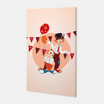 Thumbnail image of Circus clowns –  Canvas, Live Heroes