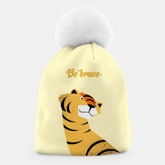 Thumbnail image of Be brave tiger – Beanie, Live Heroes