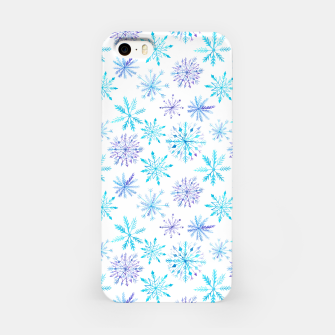 Snowflakes iPhone Case obraz miniatury