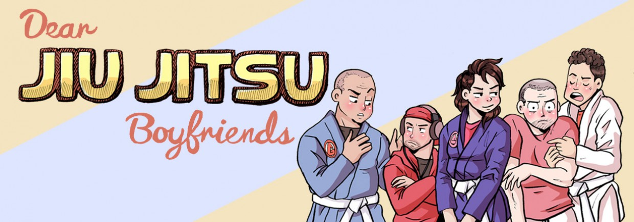 Jiu Jitsu Boyfriends Fightwear background image, Live Heroes