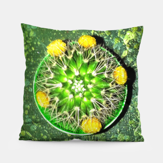 Thumbnail image of Planet Cactus Pillow, Live Heroes