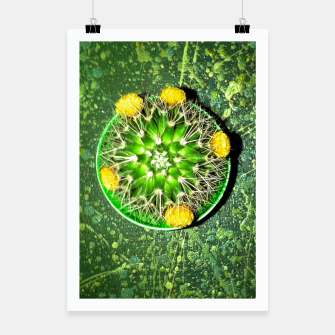Thumbnail image of Planet Cactus Poster, Live Heroes