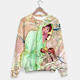Thumbnail image of Alphonse Mucha Winter Cotton sweater, Live Heroes