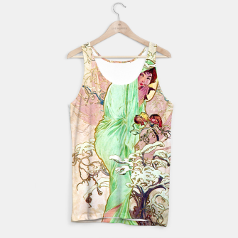Thumbnail image of Alphonse Mucha Winter Tank Top, Live Heroes