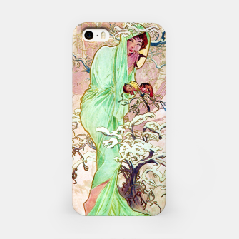 Thumbnail image of Alphonse Mucha Winter iPhone Case, Live Heroes