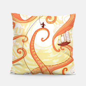 Thumbnail image of The Fisherman Pillow, Live Heroes