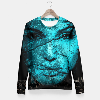 Thumbnail image of Collage LXVI Fitted Waist Sweater, Live Heroes