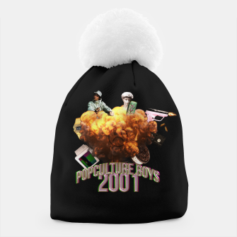 Thumbnail image of pop culture boys 2001 Beanie, Live Heroes