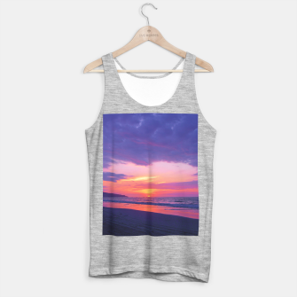 Thumbnail image of Broken sunset by #Bizzartino Tank Top regular, Live Heroes