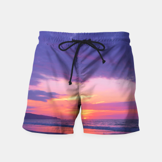 Thumbnail image of Broken sunset by #Bizzartino Swim Shorts, Live Heroes