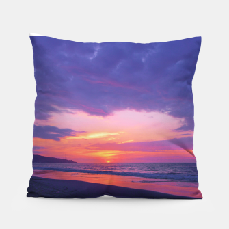 Thumbnail image of Broken sunset by #Bizzartino Pillow, Live Heroes