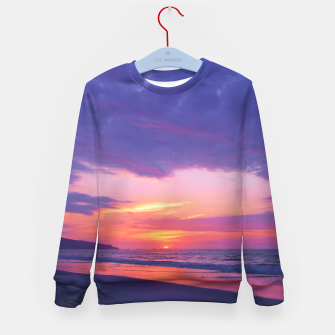 Thumbnail image of Broken sunset by #Bizzartino Kid's Sweater, Live Heroes