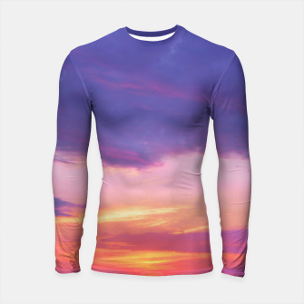 Thumbnail image of Broken sunset by #Bizzartino Longsleeve Rashguard , Live Heroes