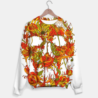 Thumbnail image of Skull Flora Sweater, Live Heroes
