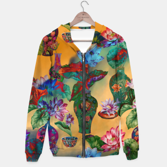 Thumbnail image of Collage LXVIII Cotton zip up hoodie, Live Heroes