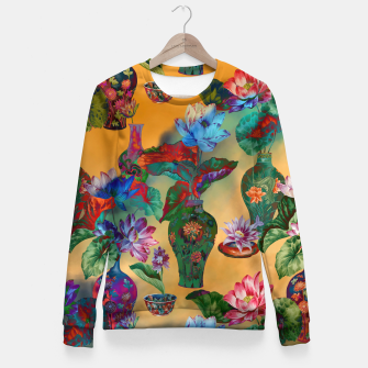 Thumbnail image of Collage LXVIII Woman cotton sweater, Live Heroes