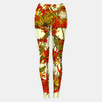 Thumbnail image of Skull Flora Leggings, Live Heroes